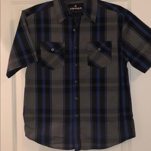 Collar button down for boy